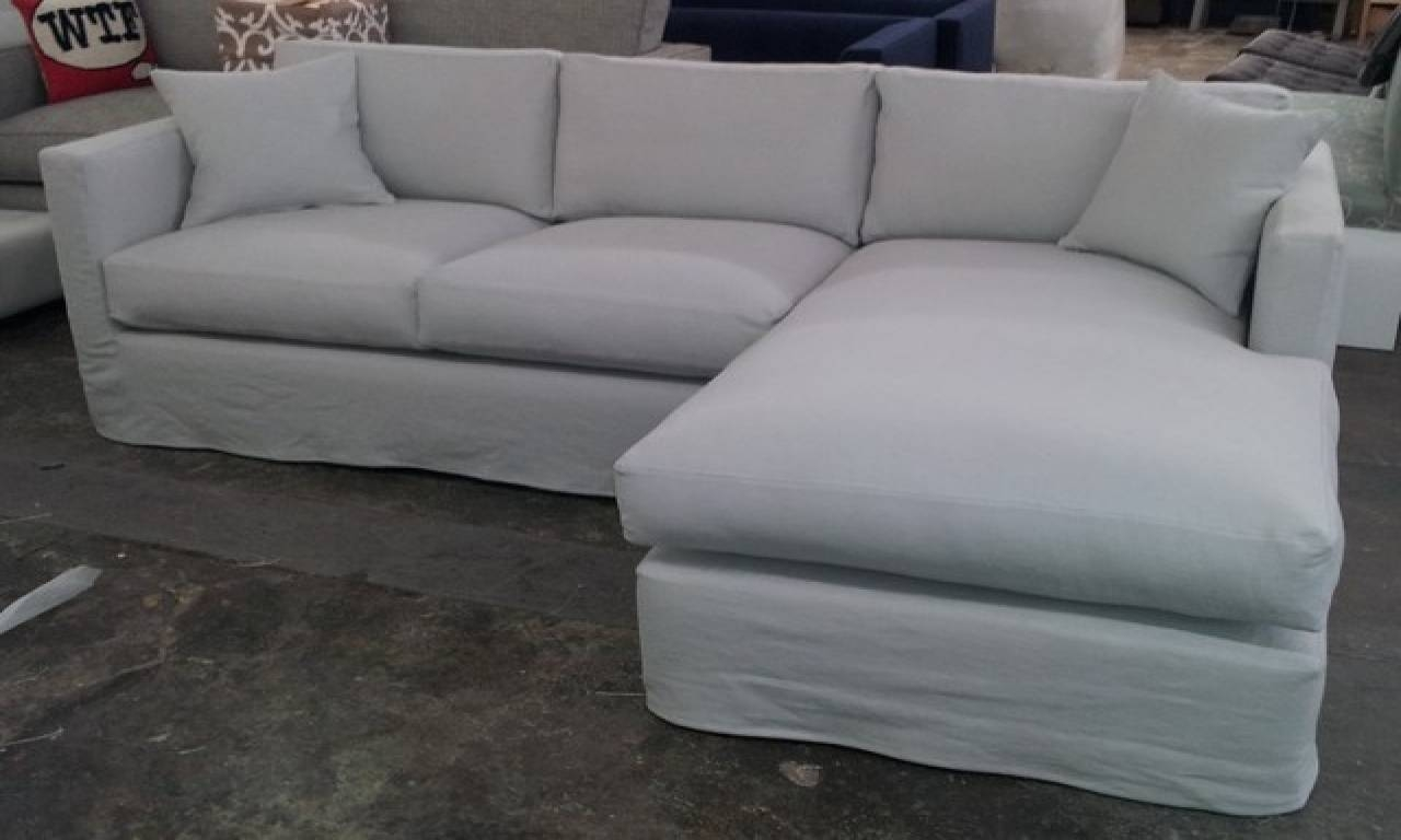Slipcovers For Sectional Sofas | Roselawnlutheran with Arhaus Slipcovers (Image 7 of 15)