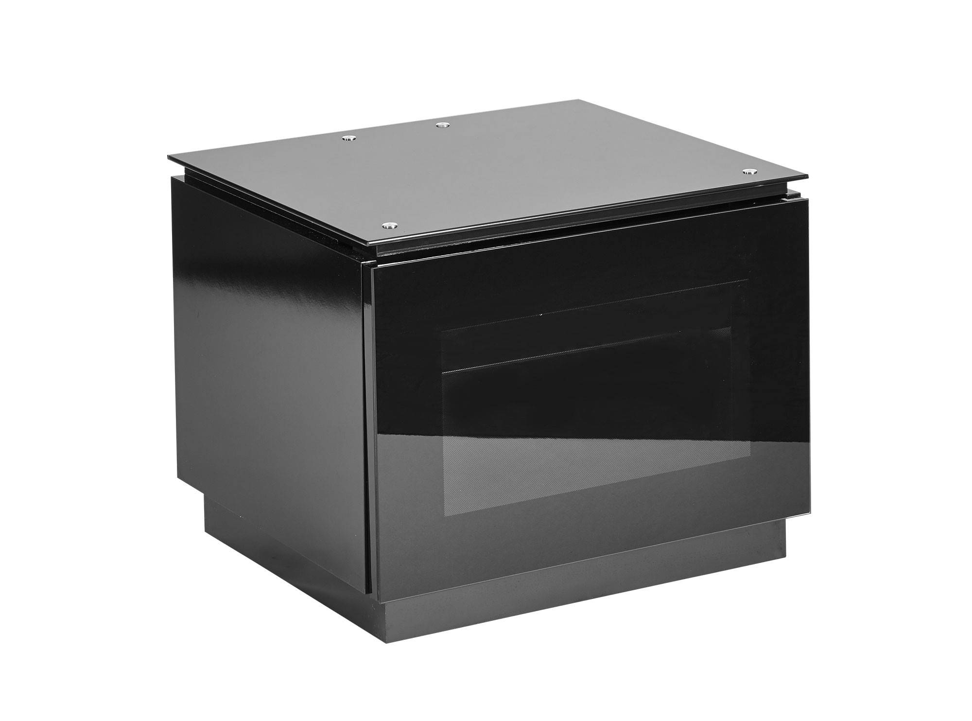 """Small Black Gloss Tv Cabinet For Up To 32"""" Tv 