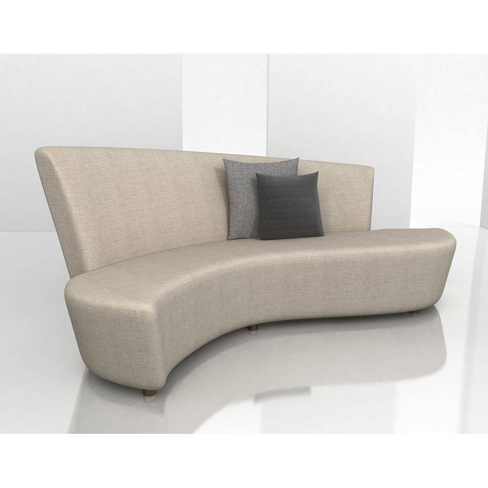 Small Curved Sectional Sofa : New Lighting - Decorating Living regarding Small Curved Sectional Sofas (Image 14 of 15)