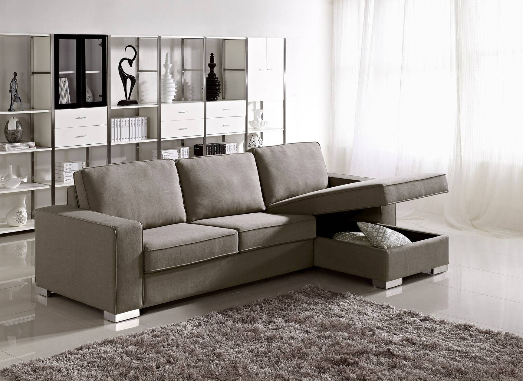 Small Sectional Sofa With Chaise Lounge   Tourdecarroll Regarding Small Sofas With Chaise Lounge (Photo 5 of 15)