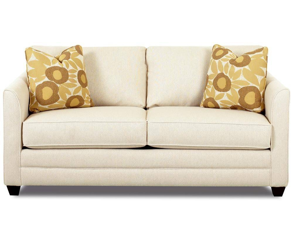 Small Sleeper Sofa With Full Size Mattressklaussner | Wolf And throughout Full Size Sofa Beds (Image 12 of 15)