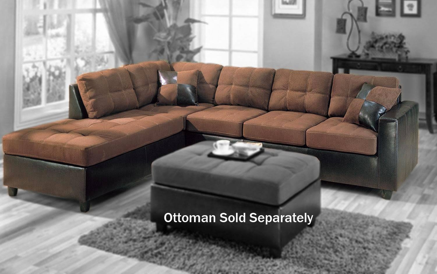 Small Sofa for Small L-Shaped Sofas (Image 14 of 15)