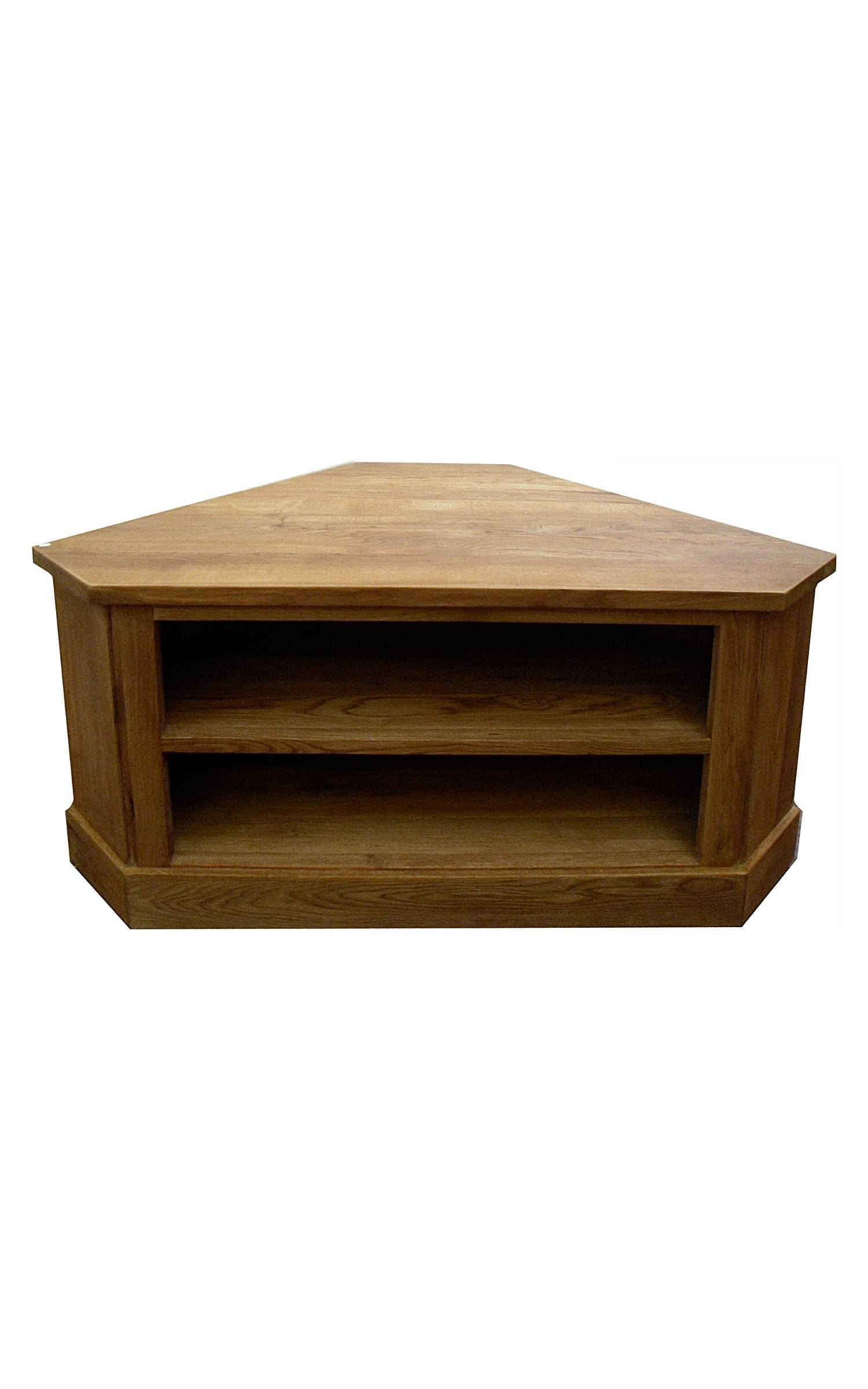 Small Tv Stand At Com Swanky With Oak Corner Stands Exciting Oiled Pertaining To Small Oak Corner Tv Stands (View 8 of 15)