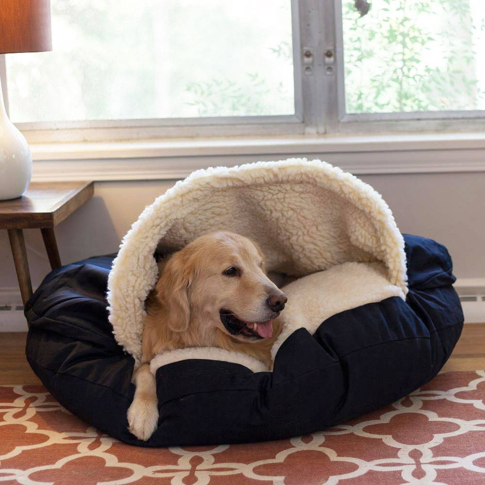 Snoozer Cozy Cave Dog Bed | 12 Colors & Fabrics | 3 Sizes throughout Snoozer Luxury Dog Sofas (Image 6 of 15)