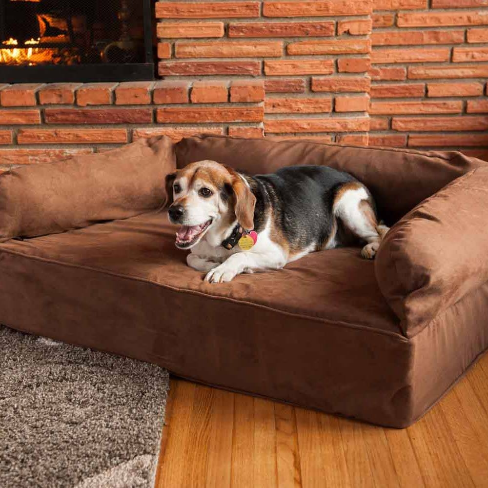 Snoozer Luxury Dog Sofa | Dog Couch | Microsuede Fabric in Snoozer Luxury Dog Sofas (Image 9 of 15)
