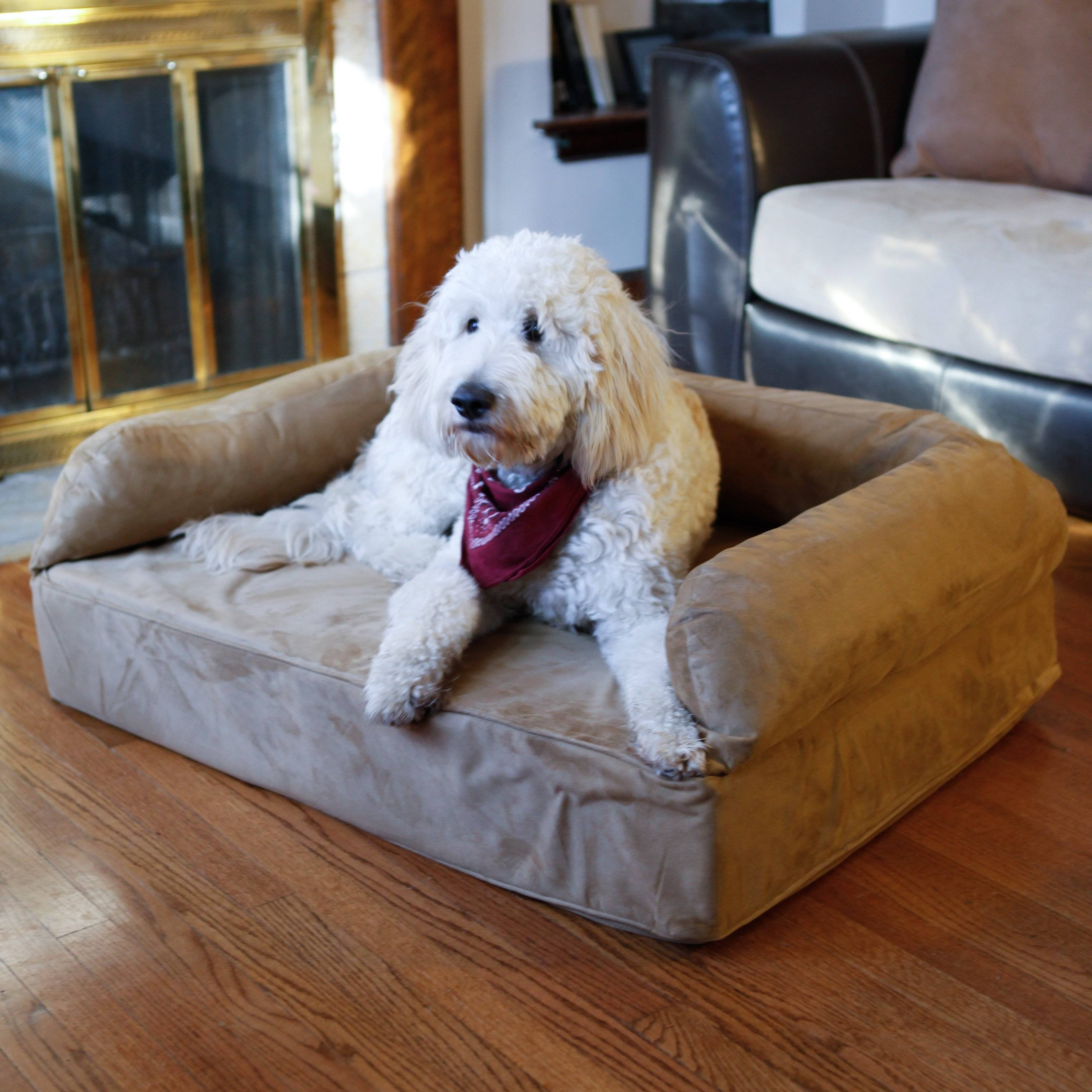 Snoozer Luxury Dog Sofa With Memory Foam | Hayneedle regarding Snoozer Luxury Dog Sofas (Image 8 of 15)