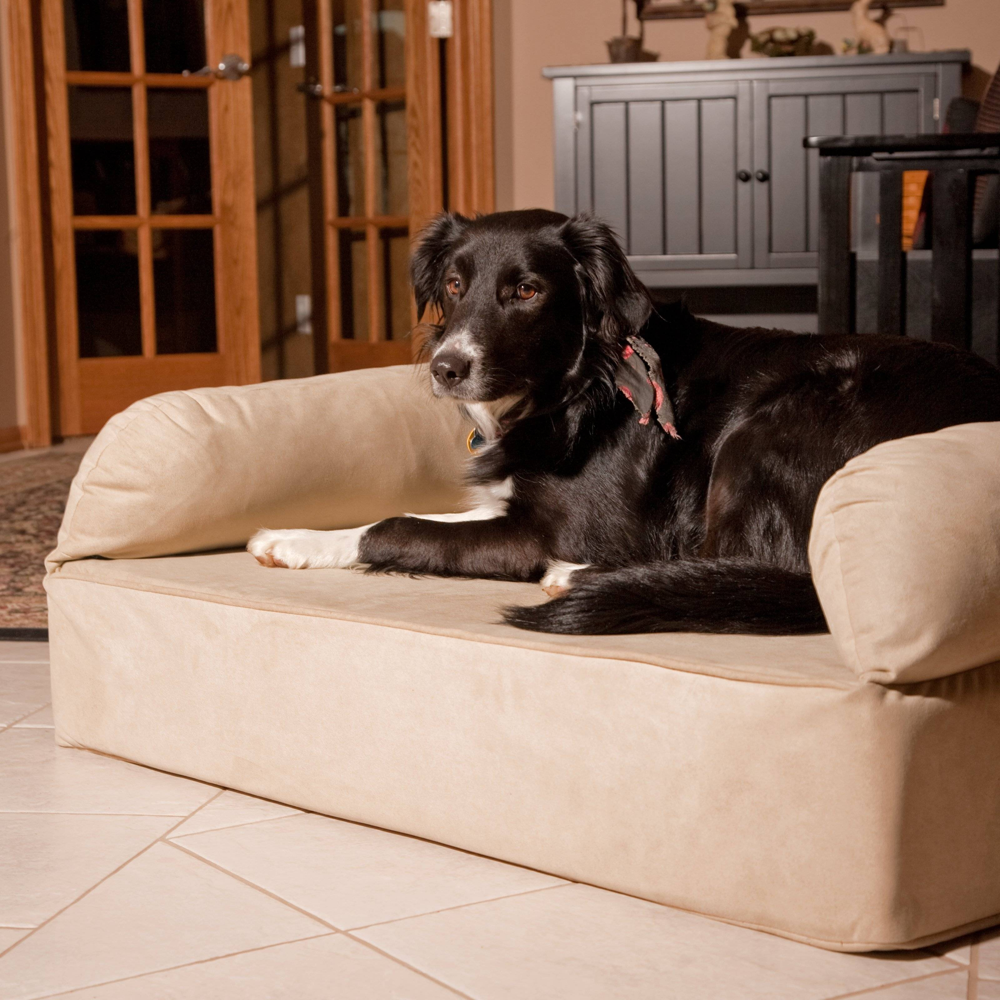 Snoozer Luxury Memory Foam Dog Sofa | Hayneedle with Snoozer Luxury Dog Sofas (Image 11 of 15)