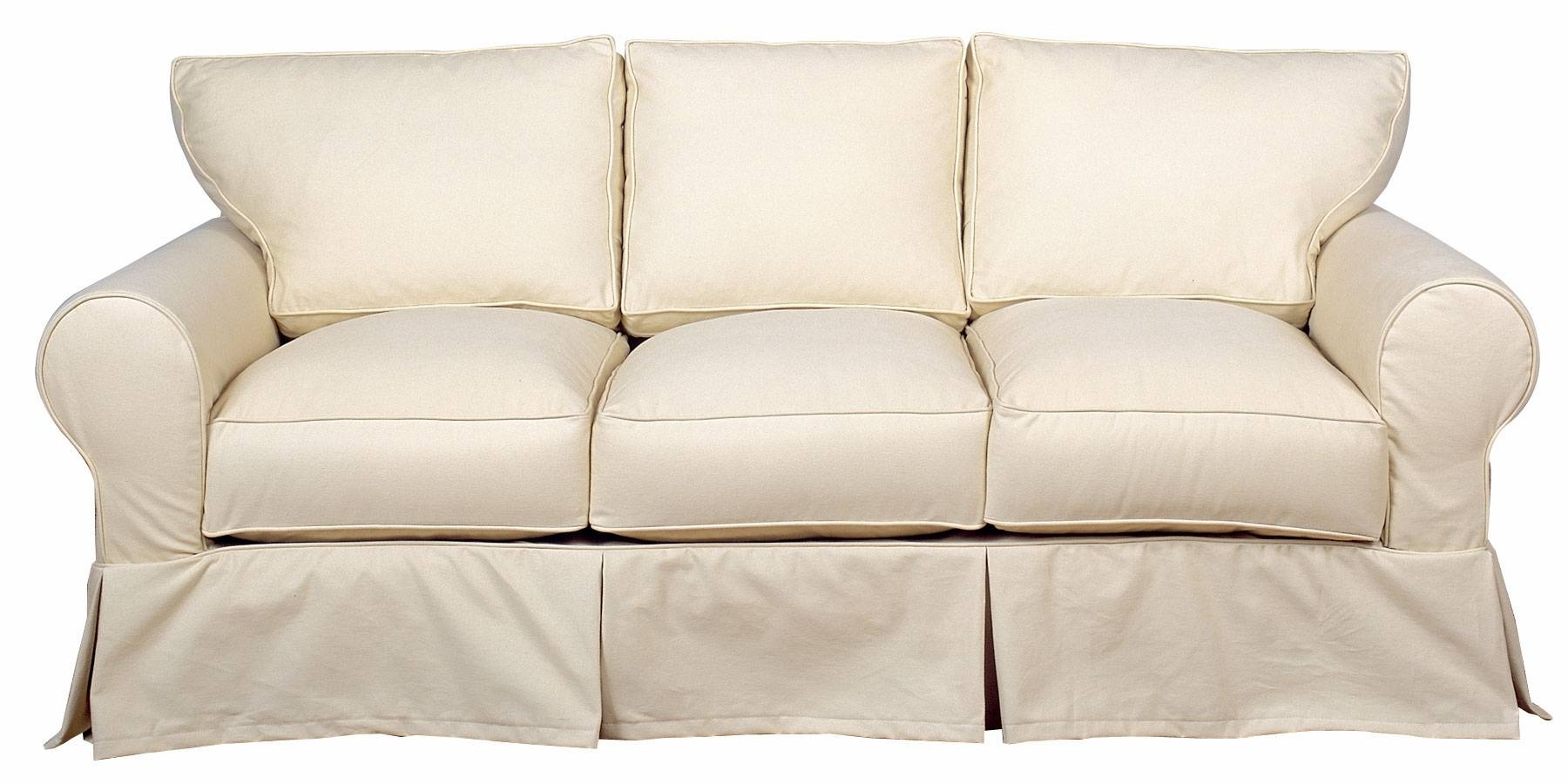 Popular Photo of Slipcovers For 3 Cushion Sofas