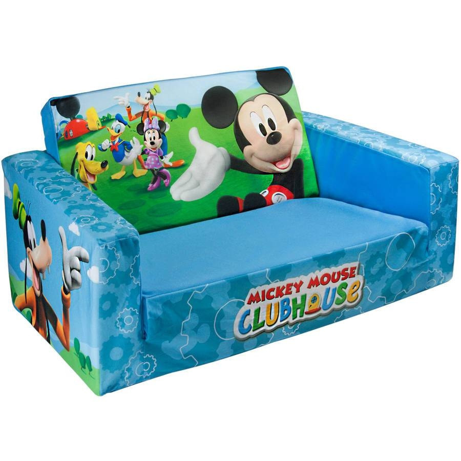 Sofa Bed Design: Best Collection Mickey Mouse Sofa Bed, Mickey intended for Mickey Mouse Clubhouse Couches (Image 9 of 15)