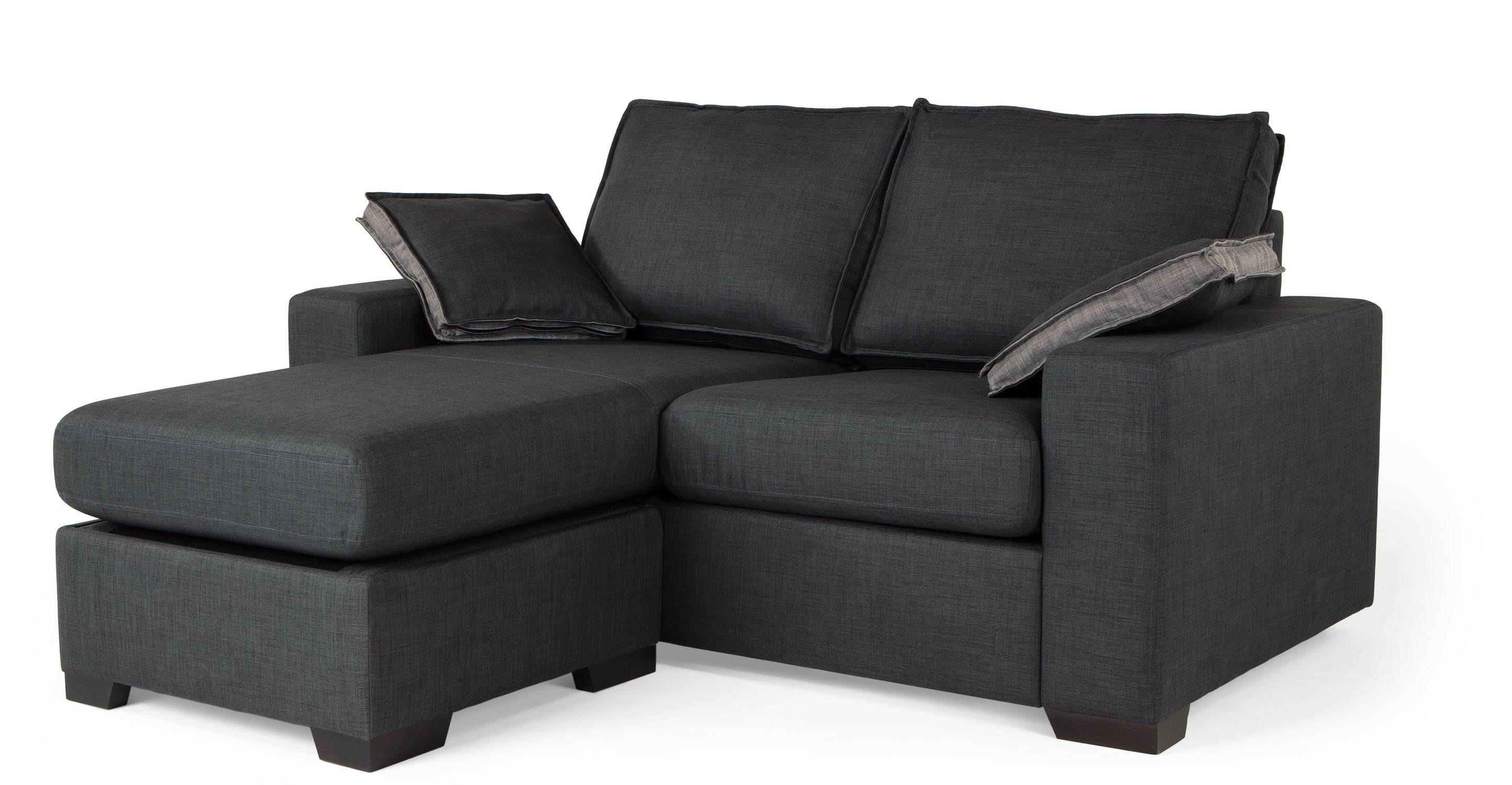 Sofa Beds For Small Apartement | Eva Furniture inside Sofa Beds With Chaise Lounge (Image 11 of 15)