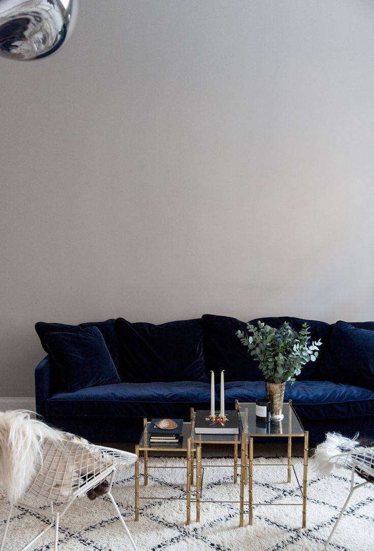 Sofa: Blue Velvet Sleeper Sofa | Navy Velvet Sofa | Velvet Tufted Sofa inside Blue Velvet Tufted Sofas (Image 13 of 15)