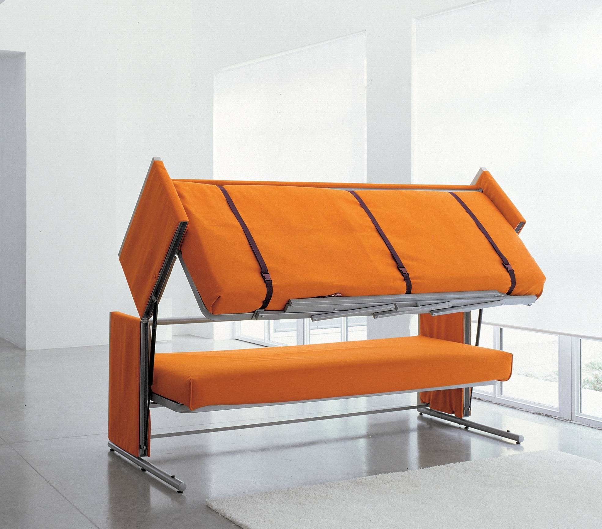 Sofa Bunk Bed Space Saving Furniture Idea - Home Improvement pertaining to Sofas Converts to Bunk Bed (Image 12 of 15)