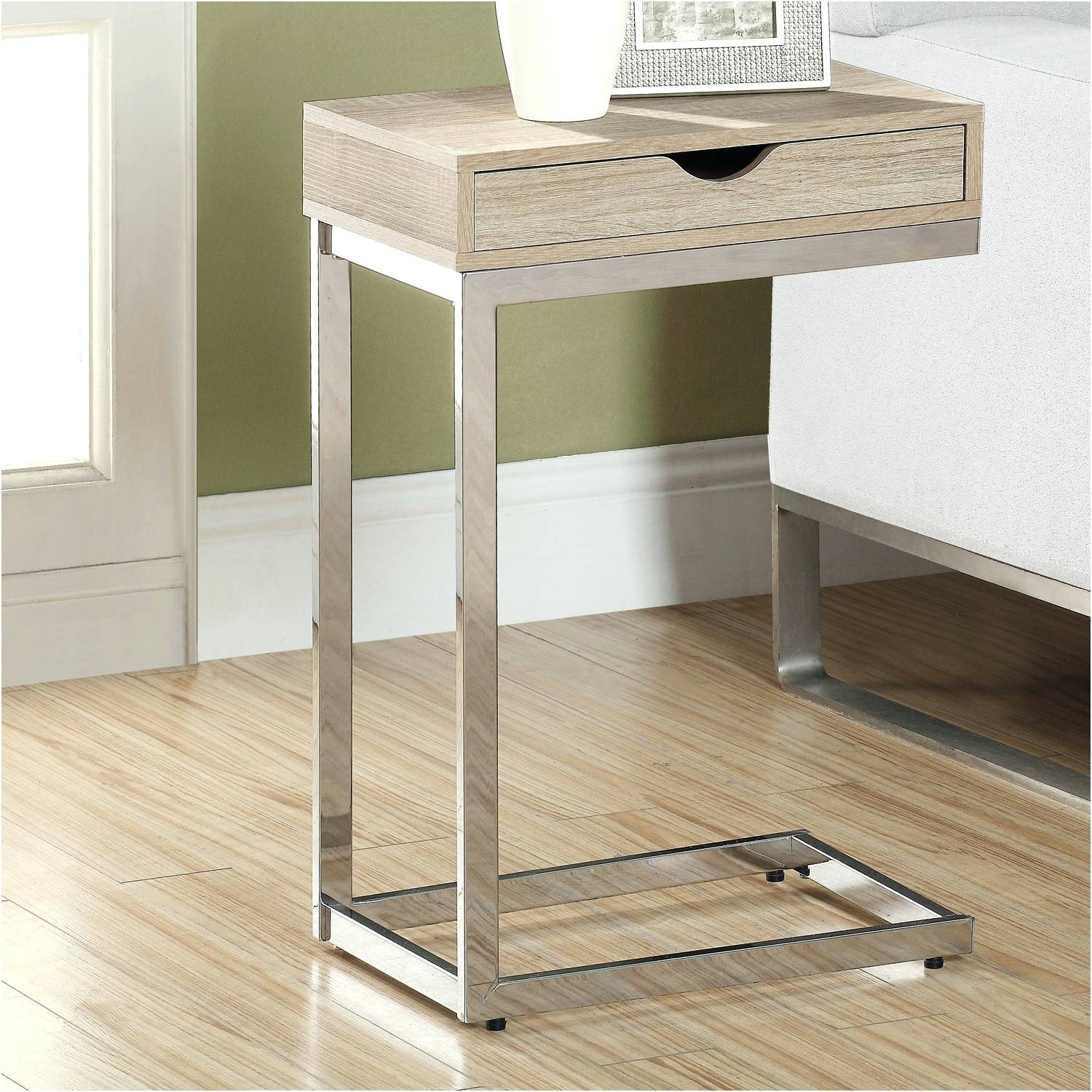 Sofa Chair Arm Rest Tv Tray Table Stand With Side Storage Slot pertaining to Under Sofa Tray Tables (Image 11 of 15)