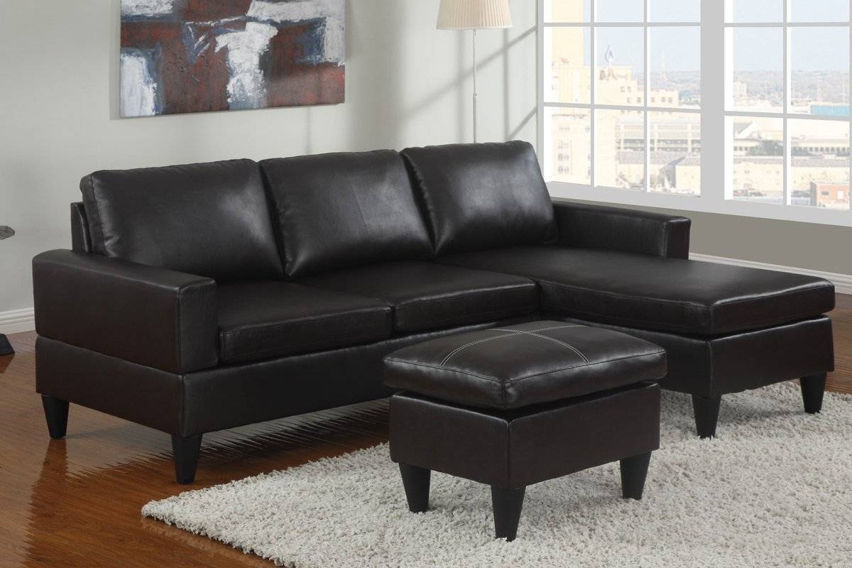 Sofa Design Ideas. White Chair Leather Sofa With Chaise Lounge For intended for Black Leather Chaise Sofas (Image 15 of 15)