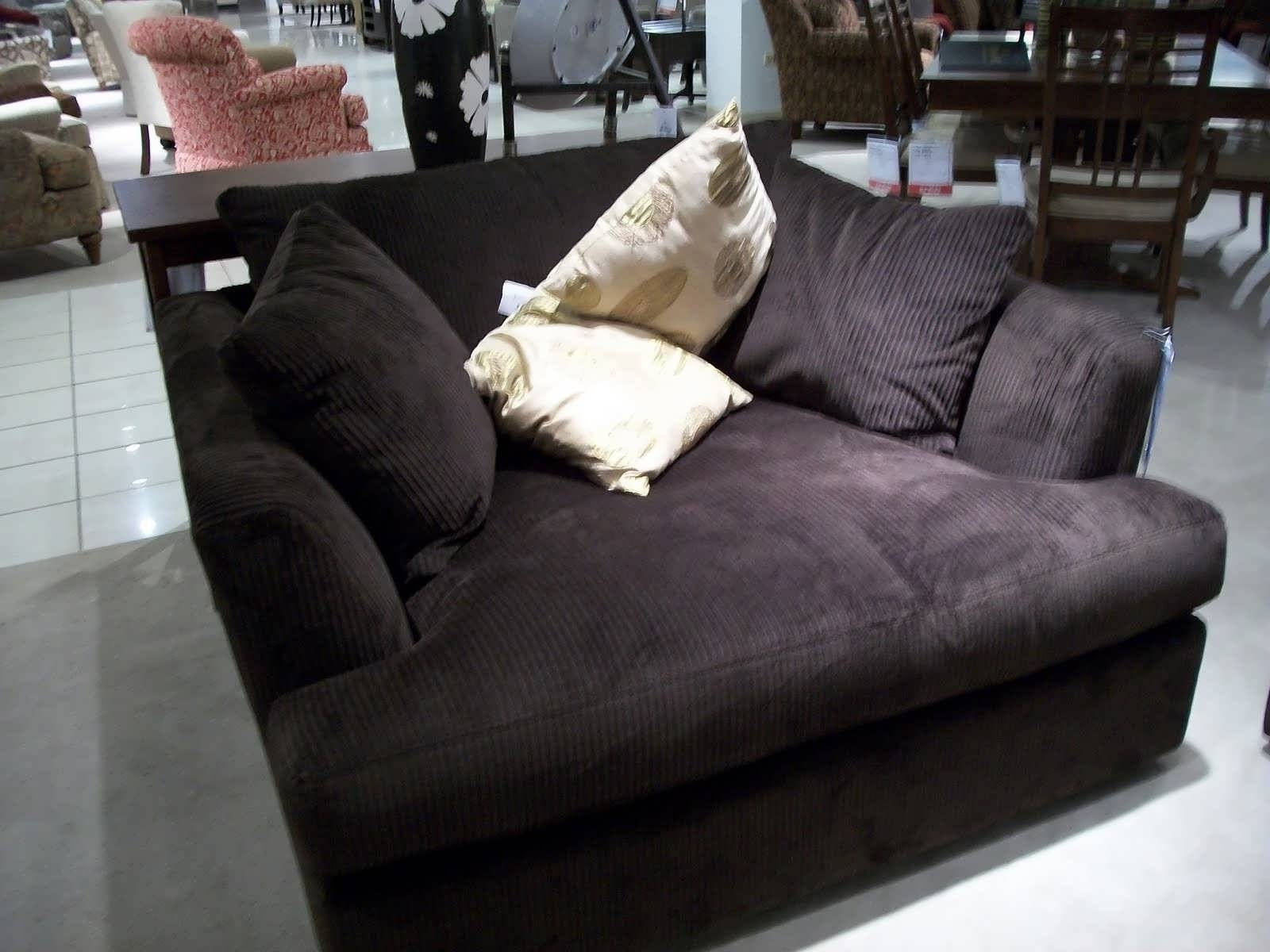 Sofa : Designer Sofa Small Leather Sofas For Small Rooms Narrow with regard to Narrow Depth Sofas (Image 7 of 15)