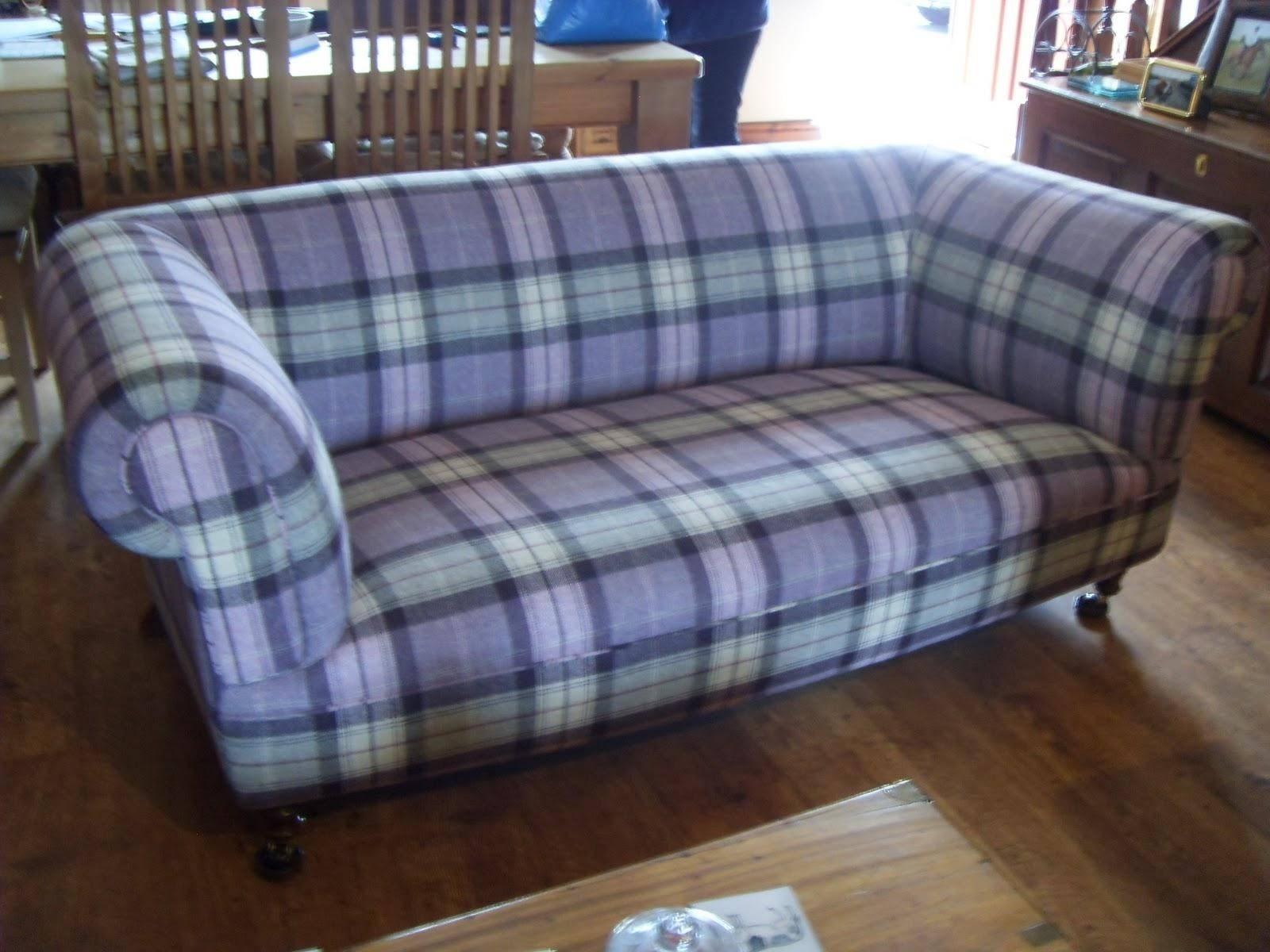 Sofa Ideas: Blue Plaid Sofas (Explore #7 Of 20 Photos) regarding Blue Plaid Sofas (Image 14 of 15)