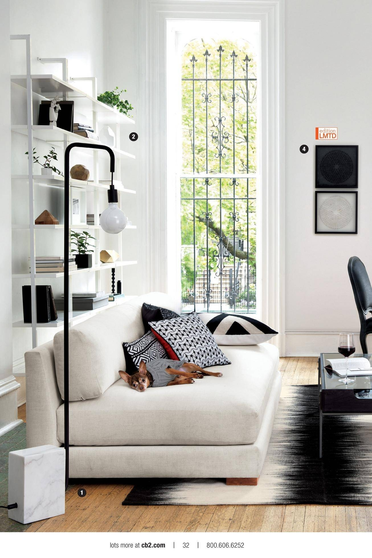 Popular Photo of Cb2 Piazza Sofas