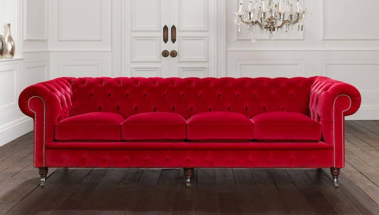 Sofa Ideas: Red Chesterfield Chairs (Explore #15 Of 20 Photos) with regard to Red Chesterfield Chairs (Image 15 of 15)