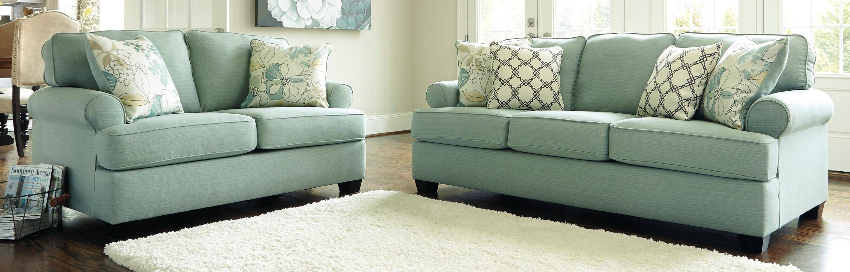 Genial Sofa Ideas: Seafoam Sofas (Explore #8 Of 20 Photos) Inside Seafoam Sofas