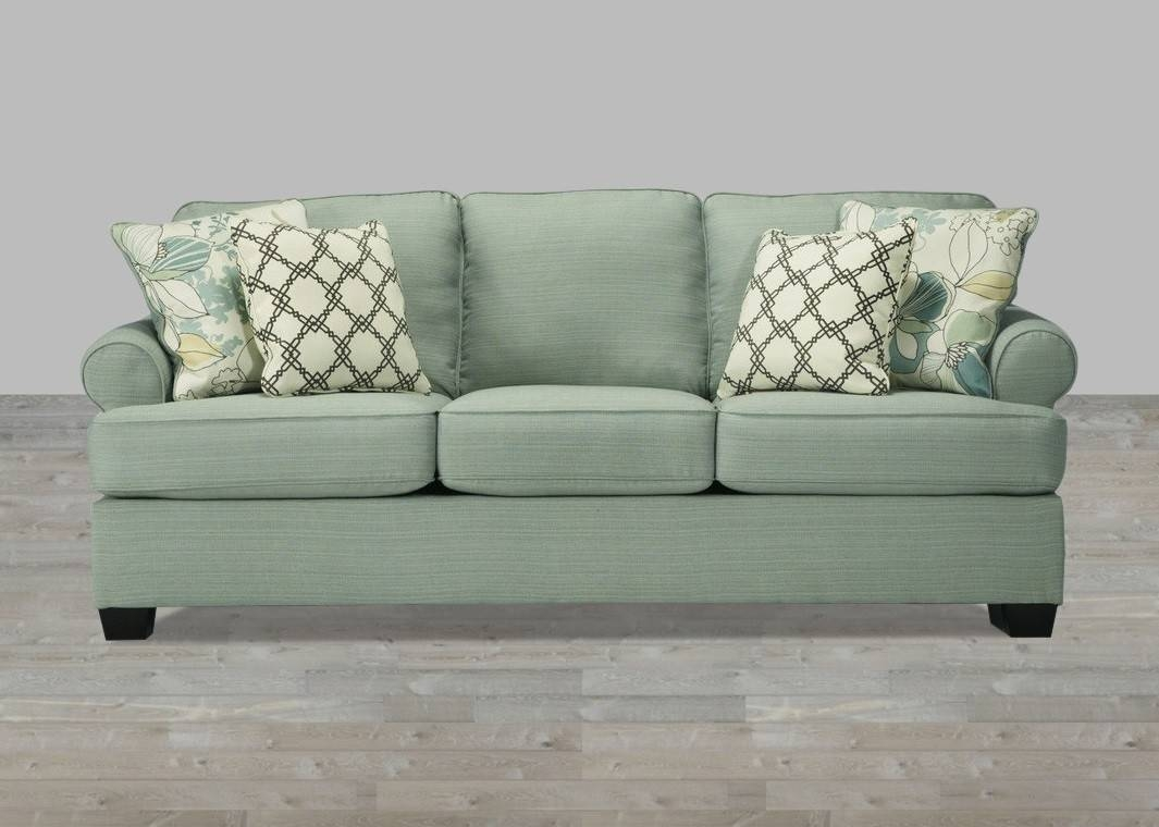 Sofa In Seafoam in Seafoam Green Couches (Image 14 of 15)
