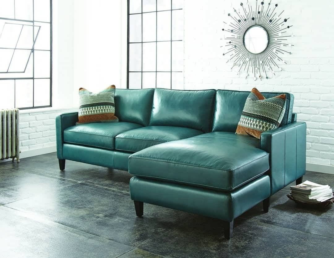 Sofa : Leather Sectional Sleeper Sofa Leather Sofa Covers Fabric in Blue Leather Sectional Sofas (Image 14 of 15)