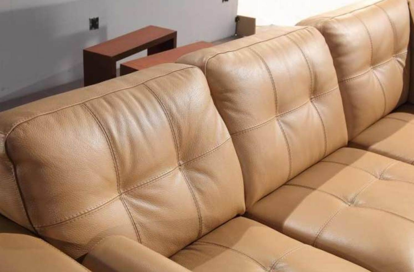 Sofa : Leather Sofa Sectionals Striking Leather Sectional Sofa With Camel Color Leather Sofas (Photo 15 of 15)