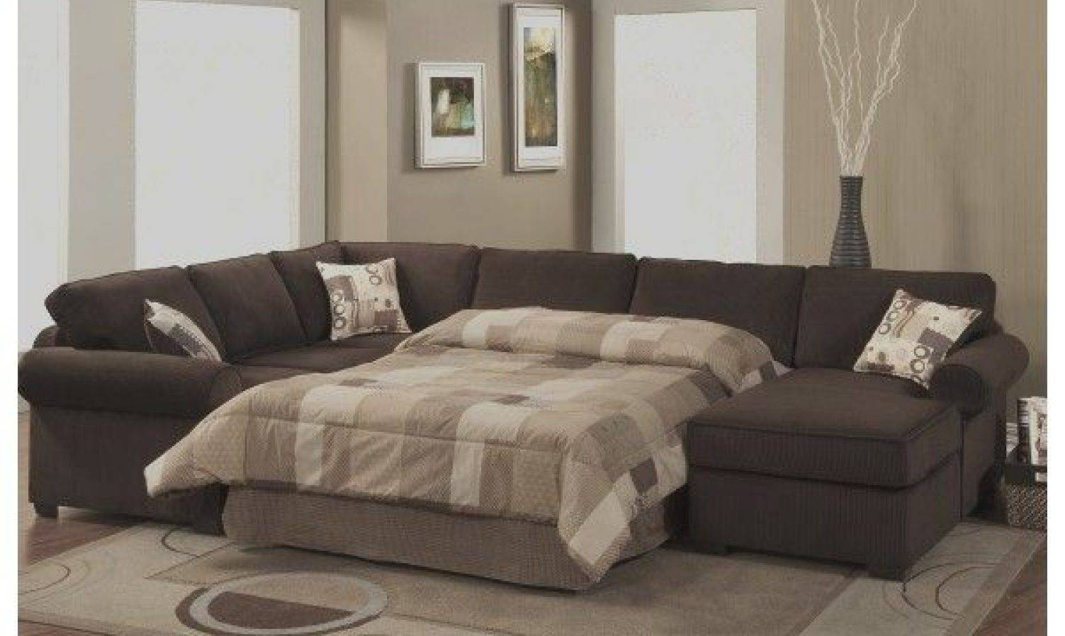 Sofa : Microfiber Sleeper Sofa Prominent Bradley Microfiber Full with Microsuede Sleeper Sofas (Image 14 of 15)