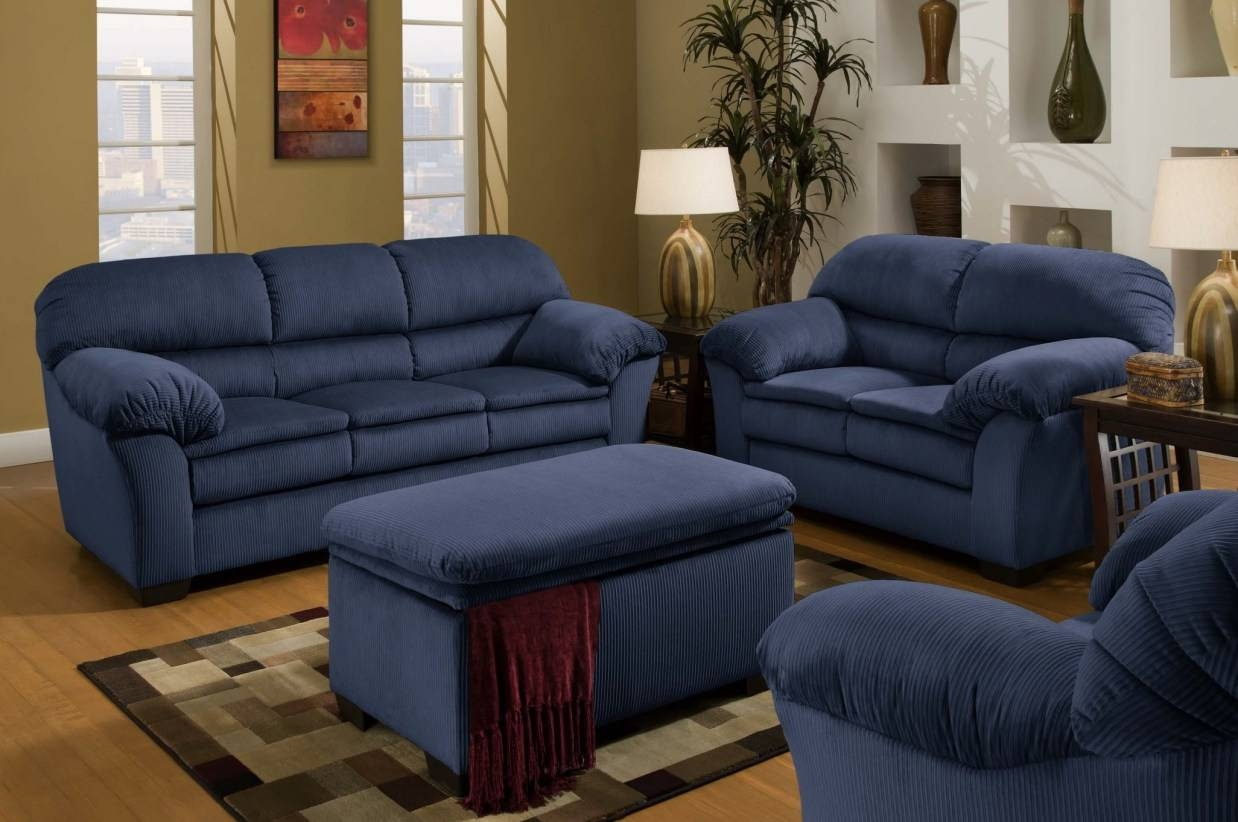 Sofa : Navy Blue Couches Stunning Navy Blue Sofas I Want A Blue regarding Blue Jean Sofas (Image 14 of 15)