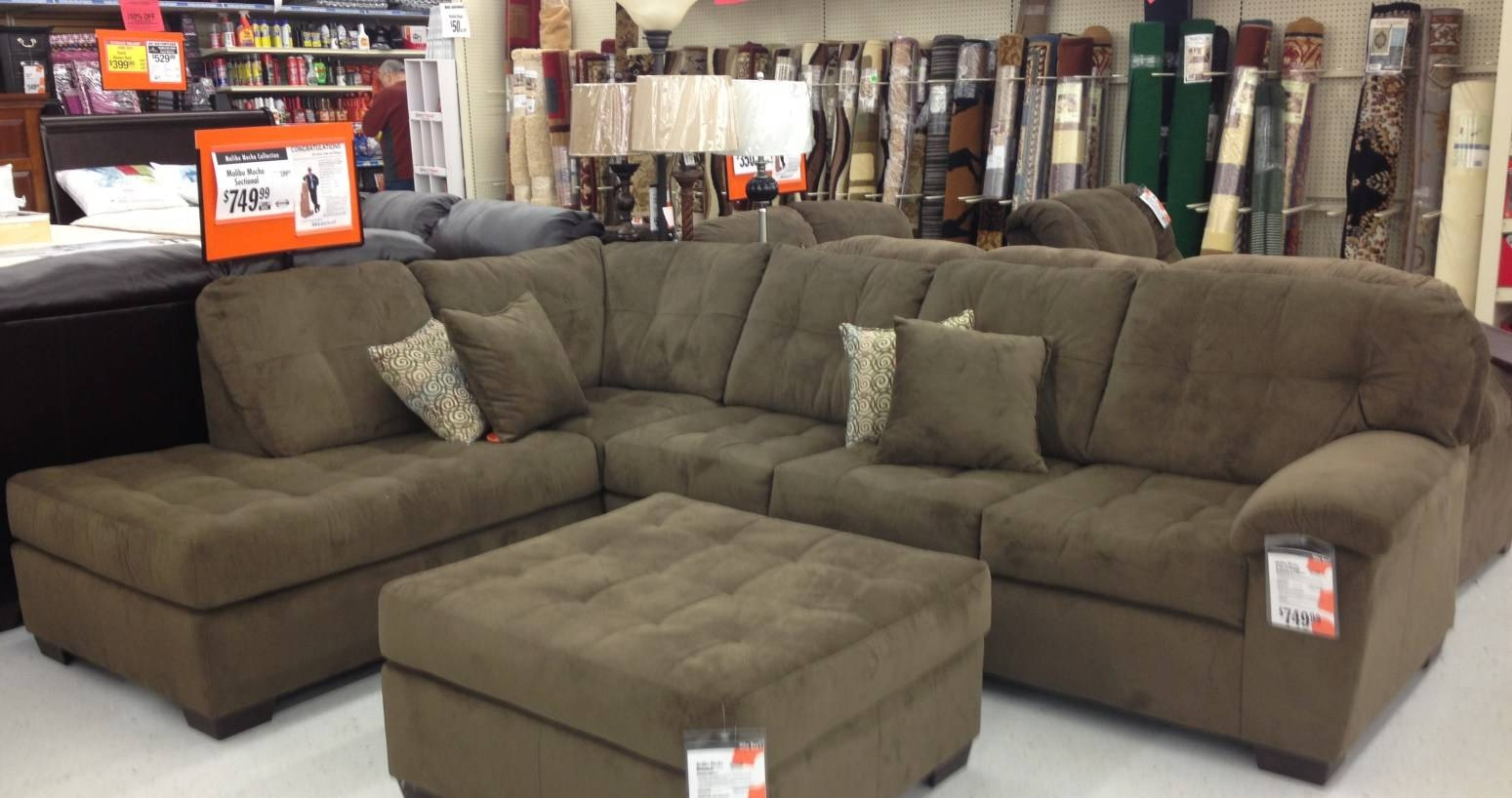Featured Photo of Big Lots Simmons Sectional Sofas