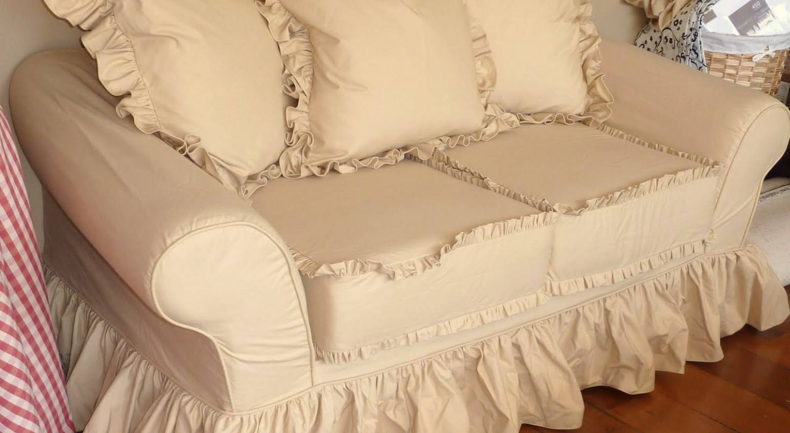Sofa : Shabby Chic Sofa Slipcovers Riveting Shabby Chic Sofa Arm in Shabby Chic Slipcovers (Image 15 of 15)