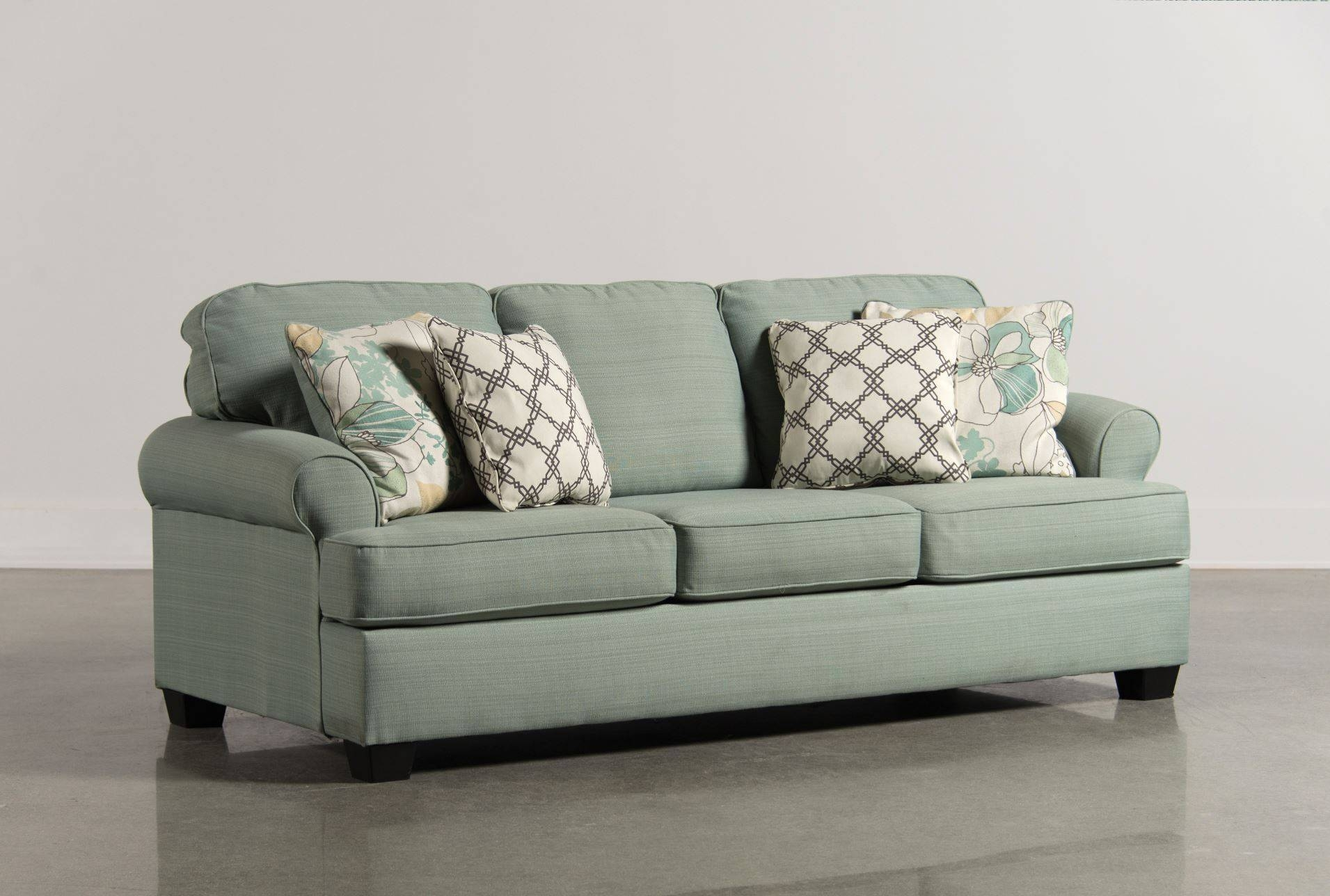 Sofa Sleeper Sale | Roselawnlutheran with regard to Seafoam Green Sofas (Image 14 of 15)