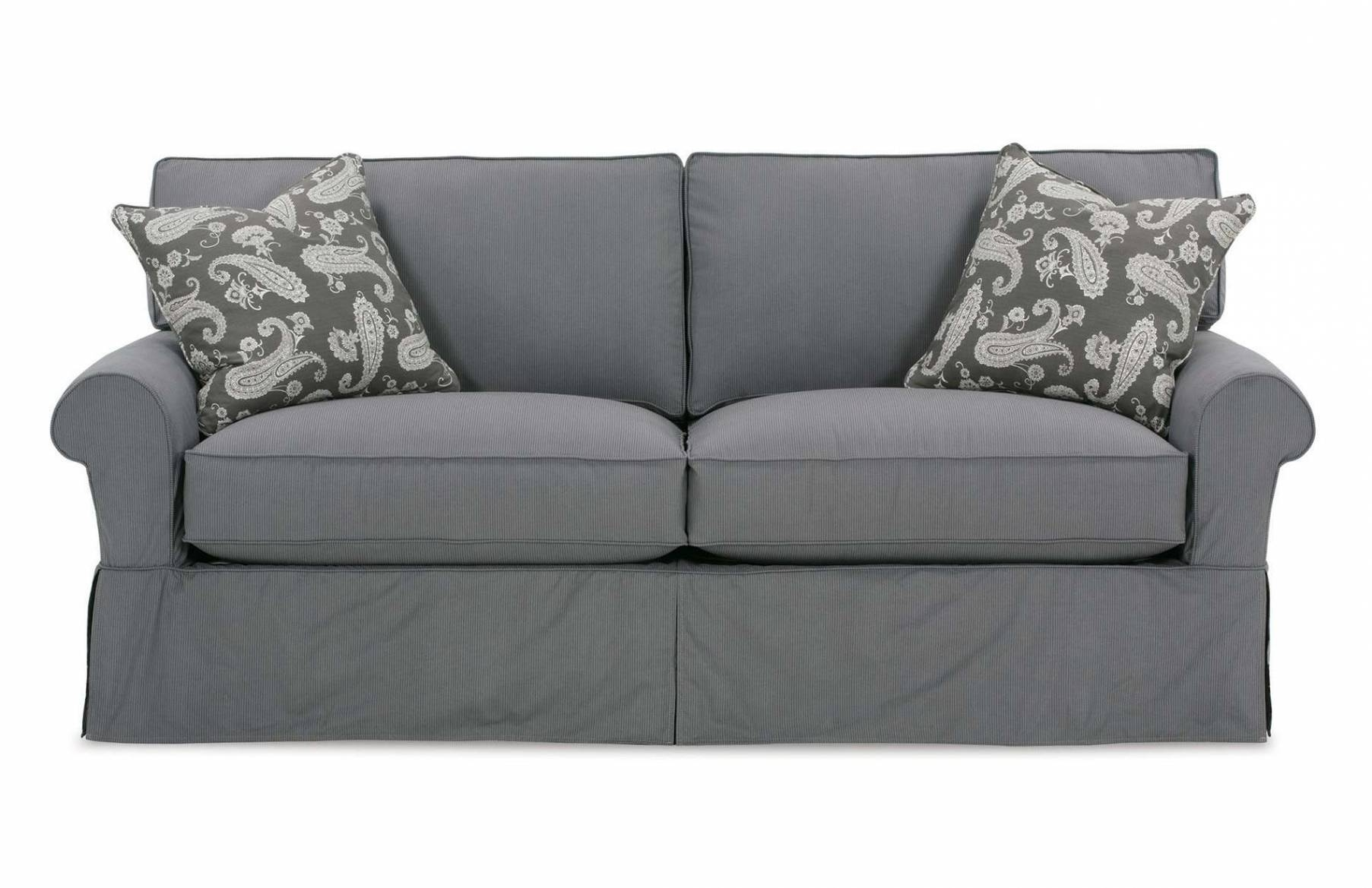 Sofa Slipcovers, Ottoman Slipcovers, Sectional Slipcovers | Rowe for Rowe Slipcovers (Image 14 of 15)
