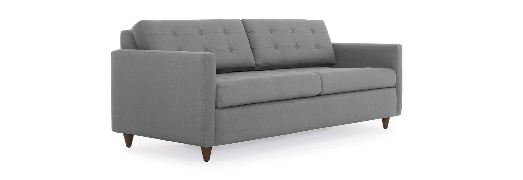 Sofa : Sofa And Chair 81 Inch Sofa Shallow Sofa Large Seat Depth with Narrow Depth Sofas (Image 12 of 15)