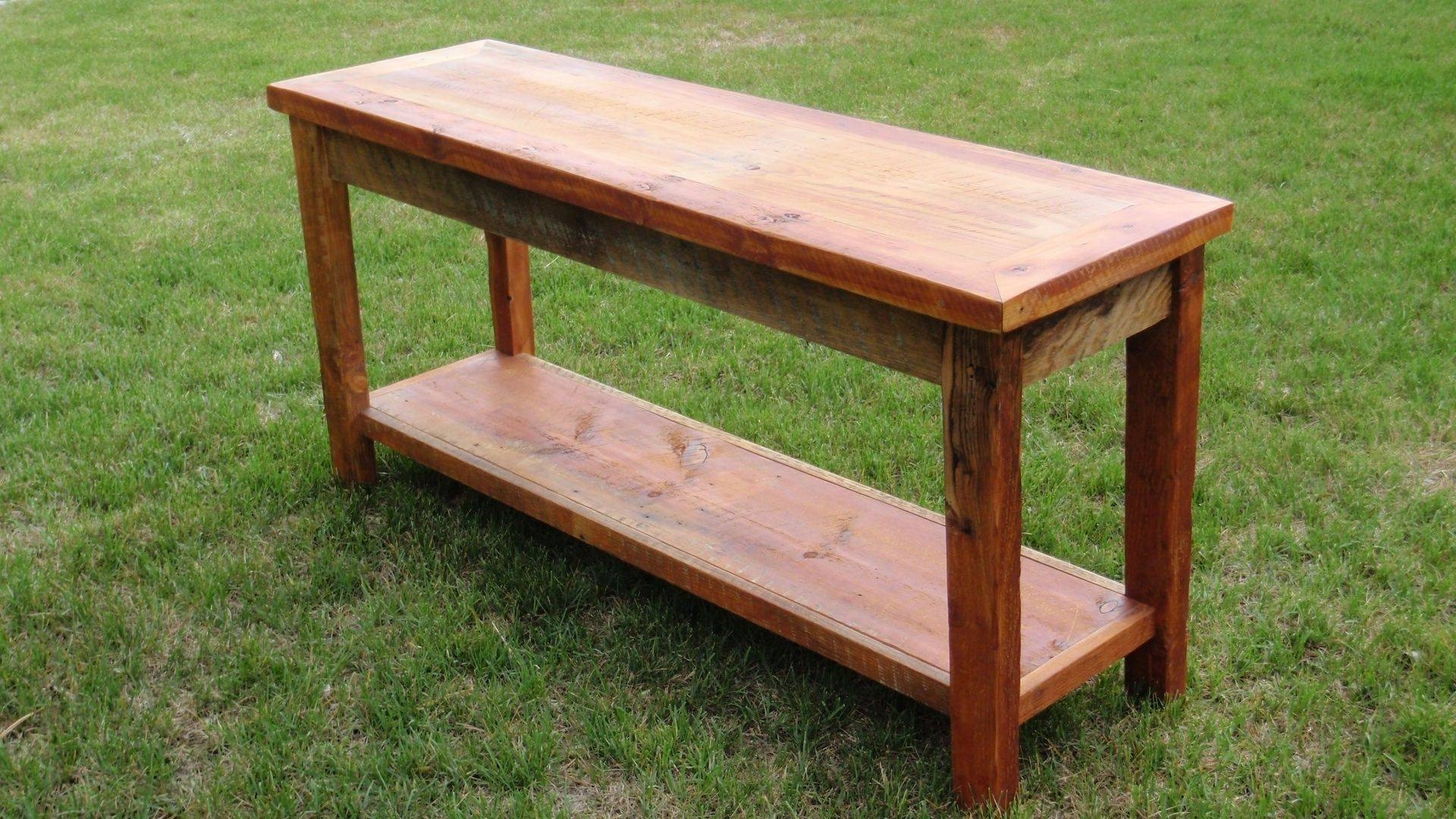 Featured Photo of Barnwood Sofa Tables