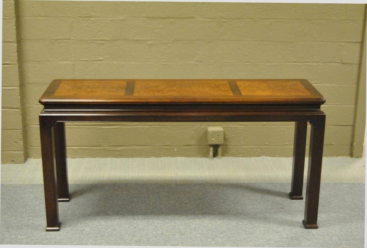Sofa Table Design: Henredon Sofa Table Amazing Contemporary Design for Asian Sofa Tables (Image 15 of 15)