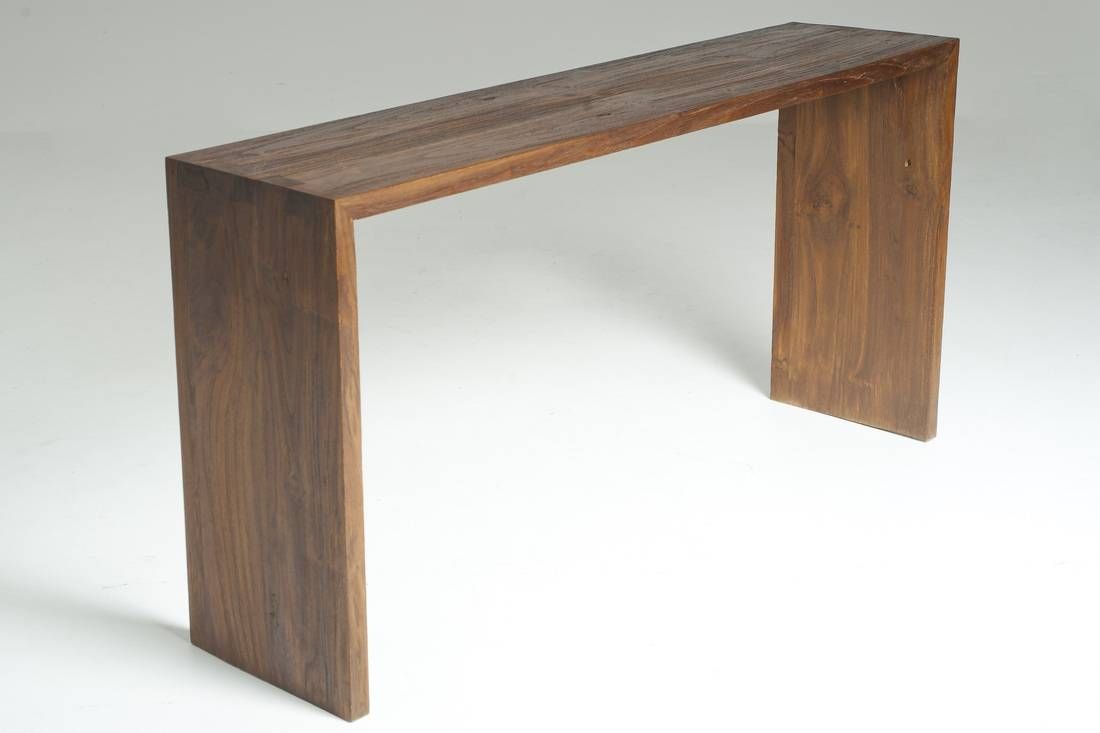 Sofa Table Design: Slim Sofa Table Amazing Console Design Handmade for Slim Sofa Tables (Image 13 of 15)