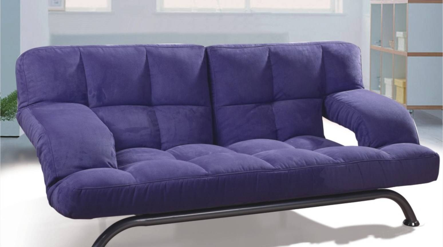 Sofa : Thrilling Purple Chesterfield Sofa Bed Modern Purple Fabric with regard to Purple Chesterfield Sofas (Image 11 of 15)
