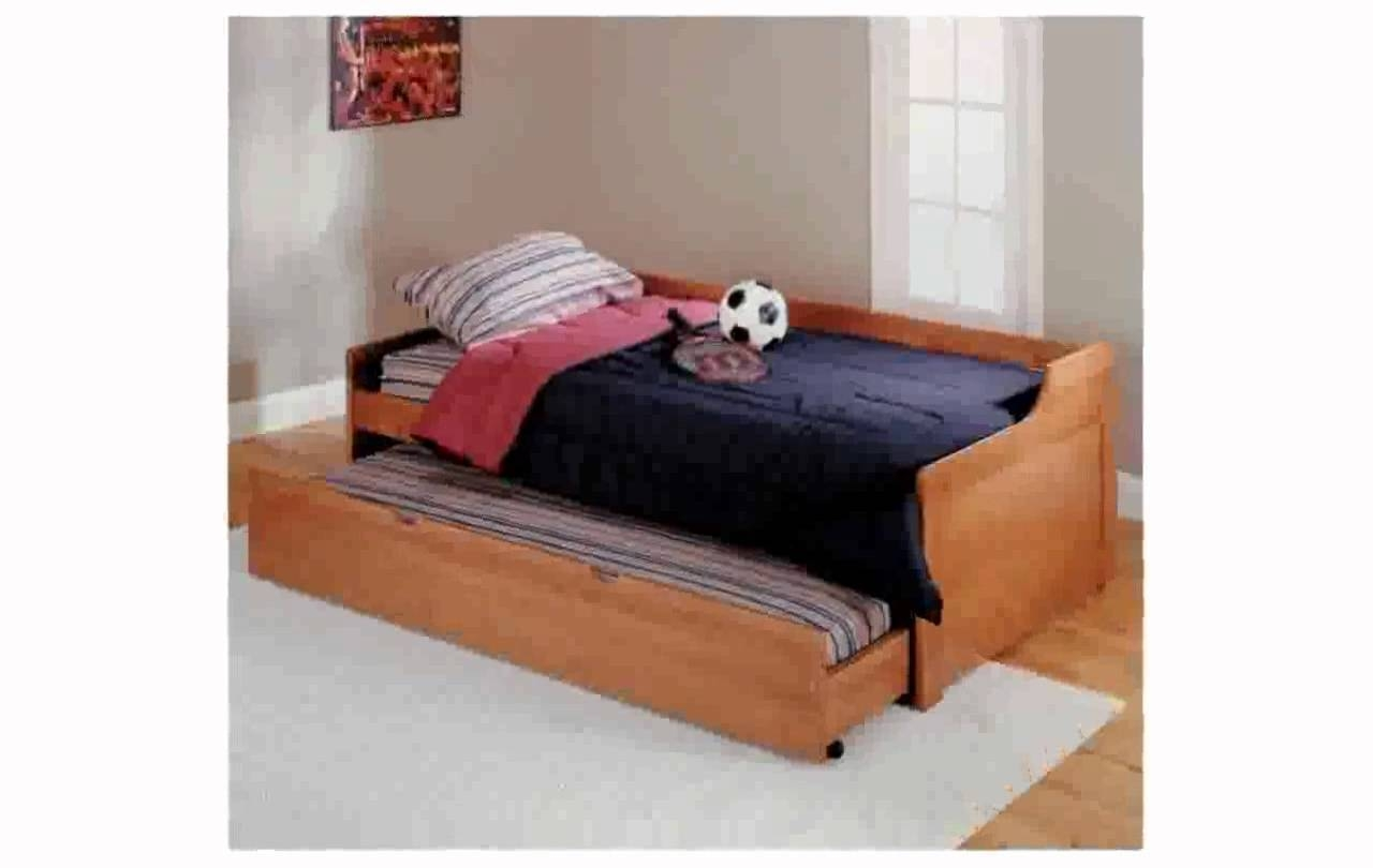Sofa Trundle Bed - Youtube regarding Sofas With Trundle (Image 11 of 15)