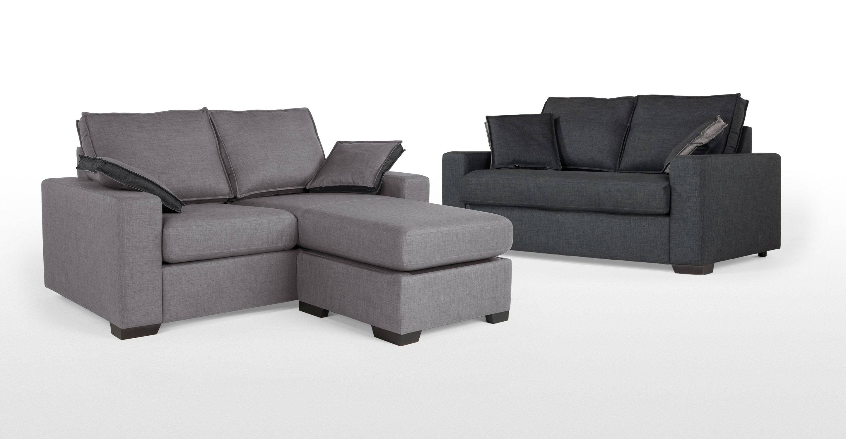 Sofas: Classic Meets Contemporary Chaise Sofa Bed For Ideal Living With Sofa Beds With Chaise Lounge (View 13 of 15)