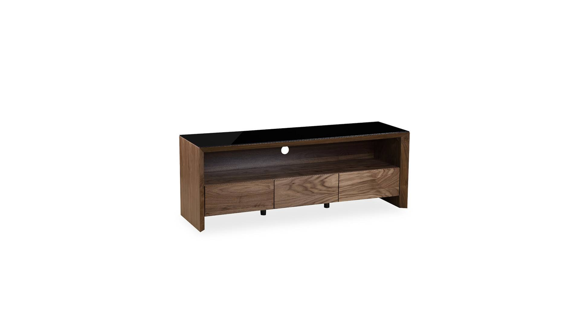 Soho - Large Tv Unit - Walnut pertaining to Soho Tv Unit (Image 4 of 15)