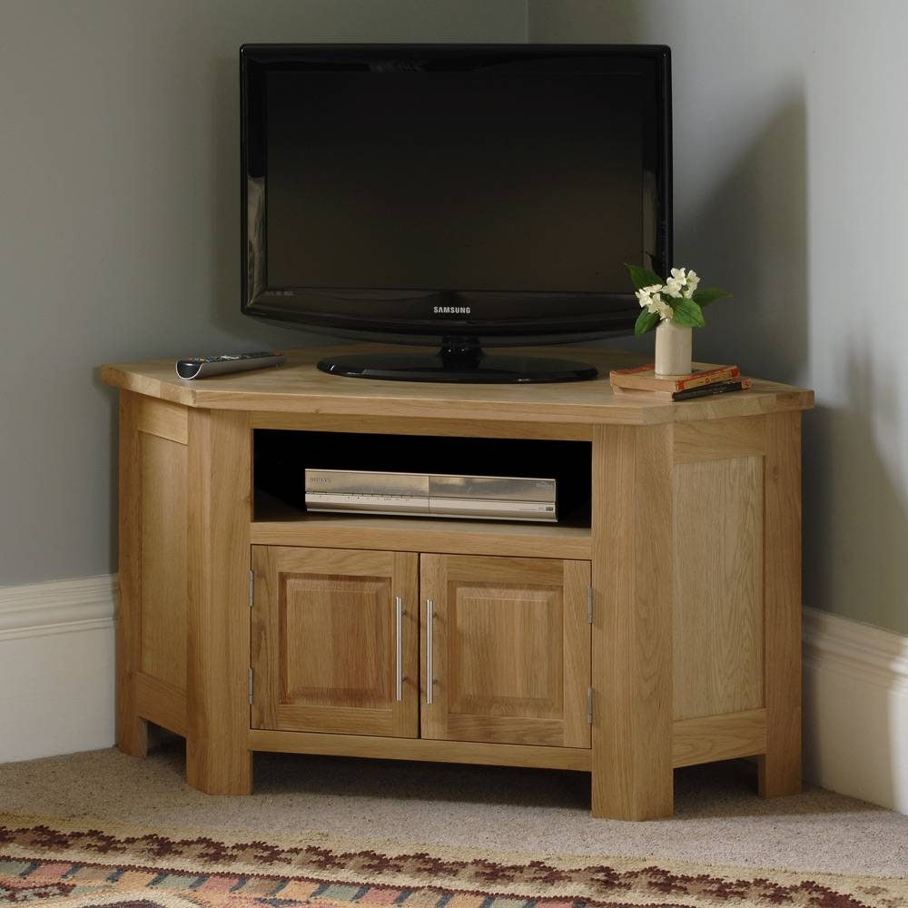 Solid Wood Corner Tv Stands Tv Stands 999M Solid Wood Corner Tv regarding Corner Oak Tv Stands for Flat Screen (Image 7 of 15)
