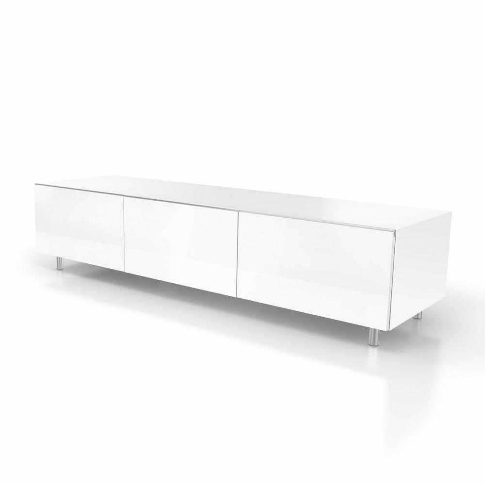 Spectral Just-Racks Jrl1650S Gloss White Tv Cabinet - Just-Racks throughout White Tv Cabinets (Image 10 of 15)