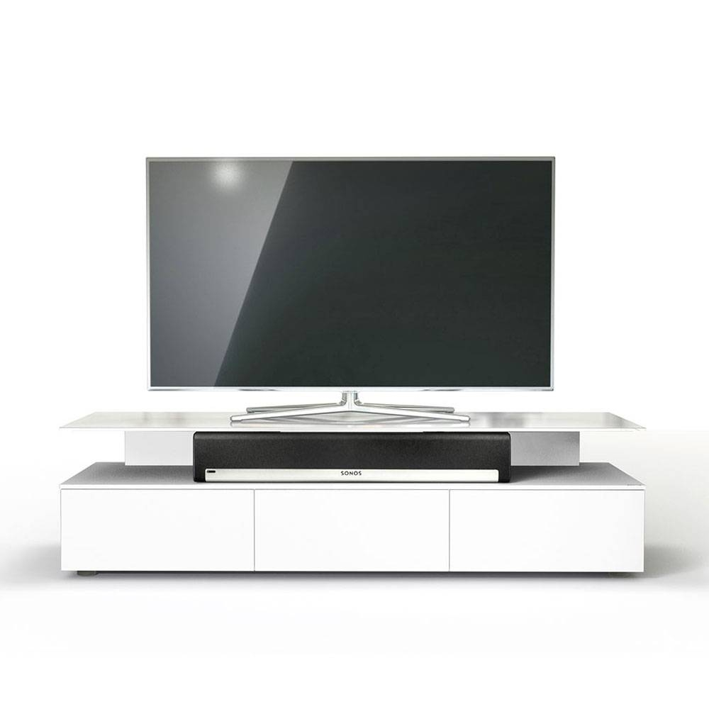 Spectral Just Racks Jrm1650 Snow White Tv Cabinet – Just Racks Within Sonos Tv Stands (View 14 of 15)