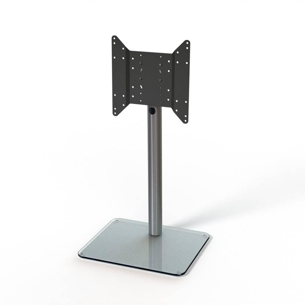 Spectral Just-Racks Tv600 Aluminium / Clear Glass Tv Stand - Just intended for Clear Glass Tv Stand (Image 12 of 15)