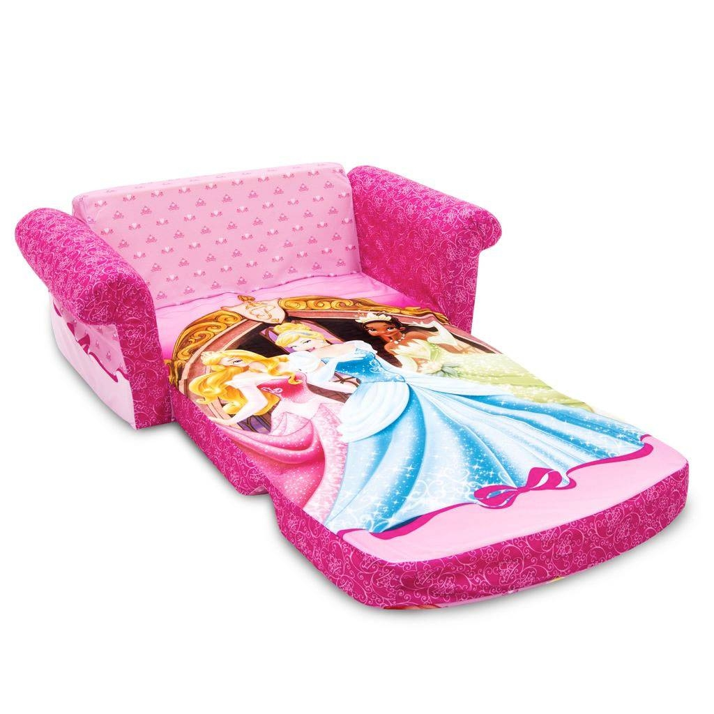 Spin Master - Marshmallow Furniture Flip Open Sofa Disney Princess with Disney Princess Couches (Image 14 of 15)