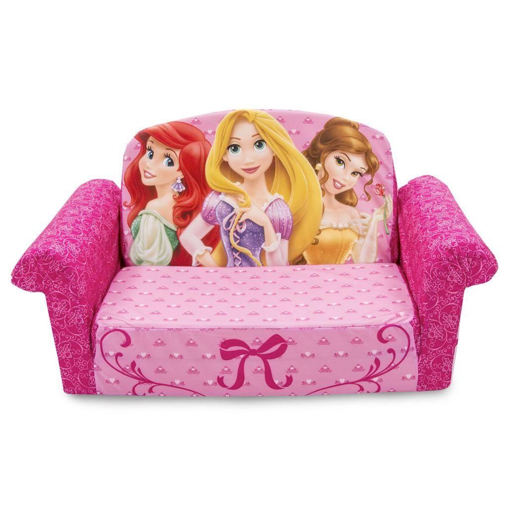 Spin Master - Marshmallow Furniture Flip Open Sofa Disney Princess with Disney Princess Sofas (Image 15 of 15)