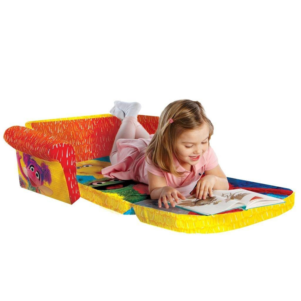 Spin Master - Marshmallow Furniture Flip Open Sofa Elmo/sesame Street throughout Elmo Flip Open Sofas (Image 15 of 15)