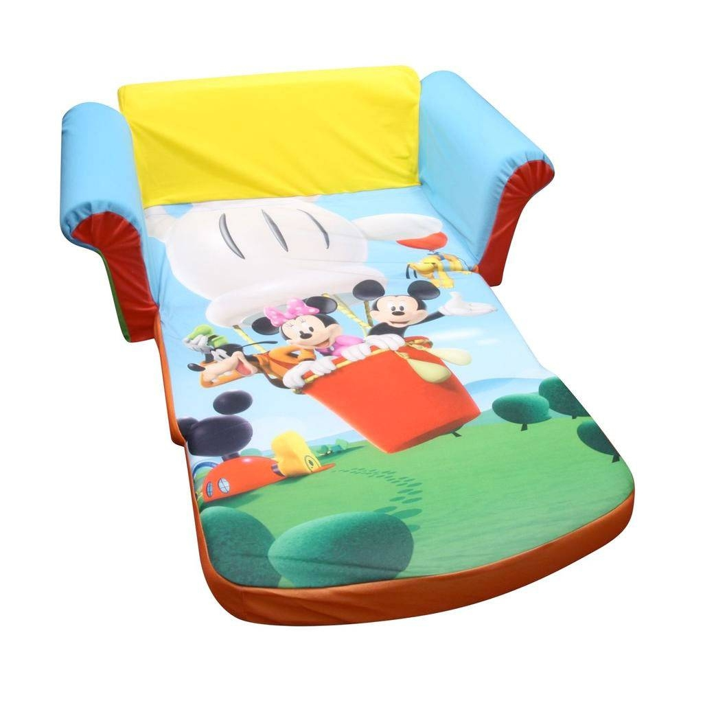 Spin Master - Marshmallow Furniture Flip Open Sofa Mickey Mouse in Mickey Flip Sofas (Image 14 of 15)