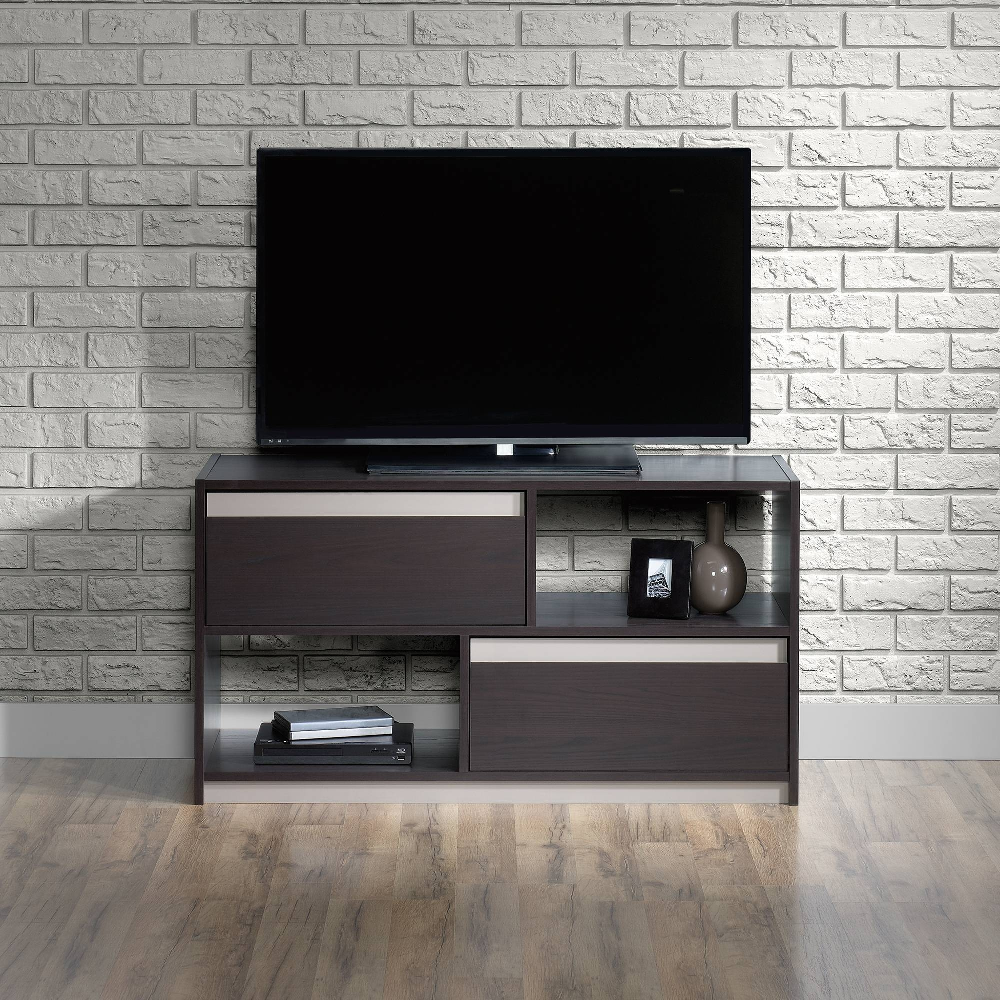 Square1 | Tv Stand | 418503 | Sauder Pertaining To Square Tv Stands (View 13 of 15)