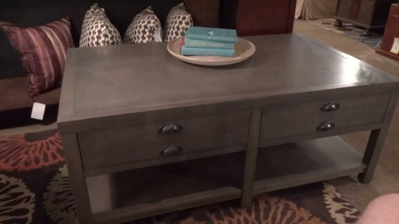Stein World Furniture Bridgeport Table Collection 611 Review - Youtube in Bridgeport Sofas (Image 14 of 15)